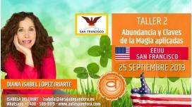 15 Mayo 2019 ( EEUU, San Francisco ) - RESERVA - TALLER 2 SEGUNDO CHACRA Curso de Diana López Iriarte