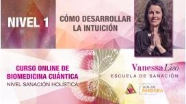 18 y 19 Mayo 2019 ( en Directo ) - CURSO ONLINE BIOMEDICINA CUÁNTICA, N1: Cómo desarrollar la intuición - Vanessa Liso