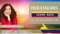 Del 3 al 8 Diciembre 2019 ( Colombia, Bogotá ) - RESERVA - Pack completo 4 Talleres con Diana López Iriarte