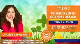 13 Marzo 2019 ( Colombia, Bogotá ) - RESERVA - TALLER 3 TERCER CHACRA Curso de Diana López Iriarte