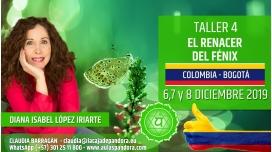 17 Marzo 2019 ( Colombia, Bogotá ) - RESERVA - TALLER 7  SEXTO Y SÉPTIMO CHACRA Curso de Diana López Iriarte
