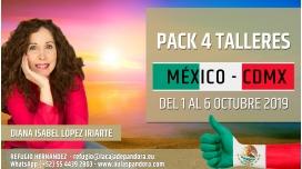 Del 1 al 6 Octubre 2019 ( México, CDMX ) - RESERVA - Pack completo 4 Talleres con Diana López Iriarte
