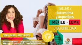 3 Octubre 2019 ( México, CDMX ) - RESERVA - TALLER 3 TERCER CHACRA Curso de Diana López Iriarte