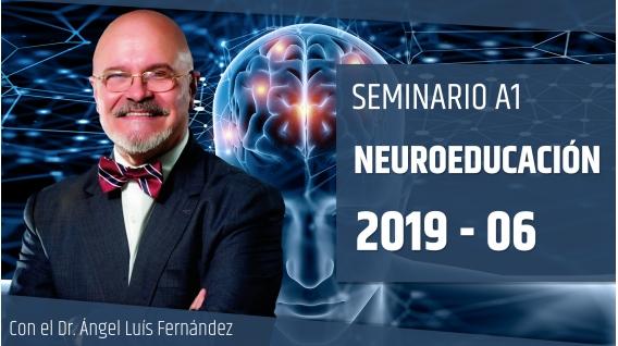 30 Junio 2019 ( en Directo ) Seminario A1: NEUROEDUCACIÓN con el Dr. Ángel Luís Fernández