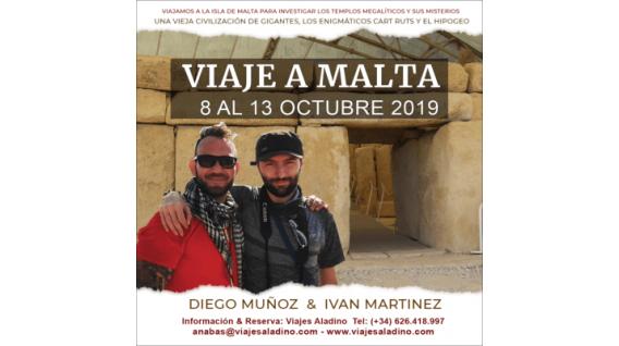 Del 8 al 13 Octubre 2019 - VIAJE A MALTA con Iván Martínez y Daniel Muñoz