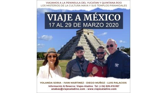 Del 17 al 29 de marzo del 2020 viaje a méxico (yucatán y quintana roo) – zona arqueológicas maya