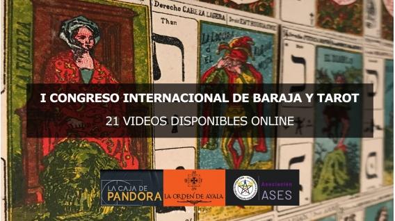 I Congreso Internacional de Baraja y Tarot - 21 Videos Disponibles