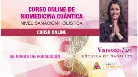 CURSO ONLINE BIOMEDICINA CUÁNTICA, Nivel Sanación Holística ( 5 Niveles ) - Vanessa Liso