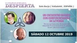 12 Octubre 2019 ( Valladolid, España ) - I CONGRESO JORNADAS DESPIERTA