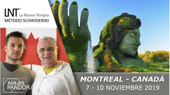 7 - 10 Noviembre 2019 ( Montreal, Canadá ) - FORMACIONES LA NUEVA TERAPIA LNT®, Método Schwiderski