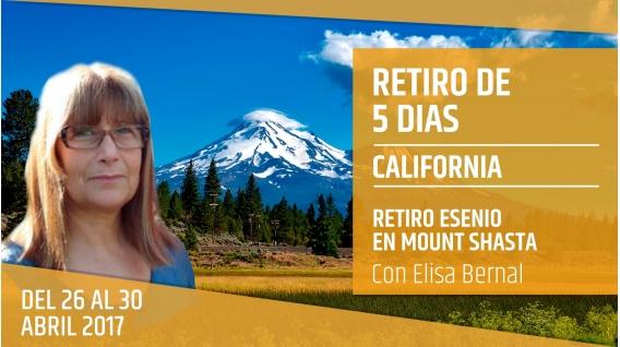 RETIRO ESENIO EN MONTE SHASTA ( California ) con Elisa Bernal