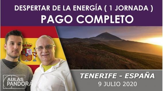PAGO COMPLETO -9 julio 2019 ( Tenerife, España) - El Despertar de la Energía ( 1 Jornada ), LA NUEVA TERAPIA LNT®