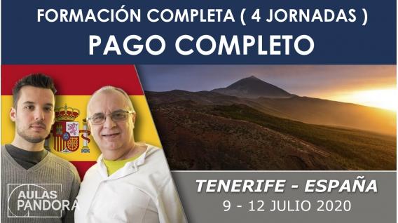 PAGO COMPLETO- 9 al 12 julio 2019 ( Tenerife, España) - Formación completa ( 4 Jornadas ), LA NUEVA TERAPIA LNT®