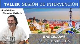 25 Octubre 2019 ( Barcelona, España ) - SESIÓN DE INTERVENCIÓN DIRECTA RECONÓCETE con José Antonio González Calderón