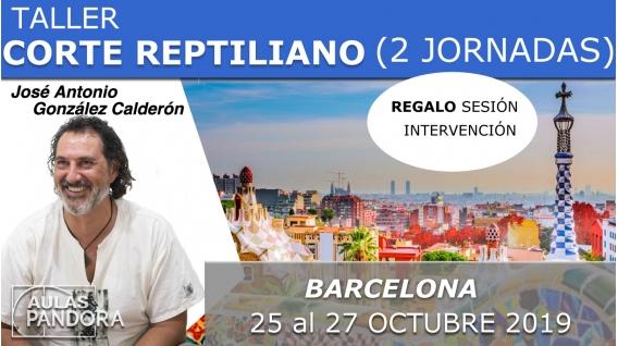 25 al 27 Octubre 2019 ( Barcelona, España ) - TALLER CORTE REPTILIANO ( 2 Jornadas ) con José Antonio González Calderón