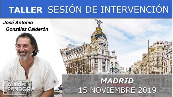 15 Noviembre 2019 ( Madrid, España ) - SESIÓN DE INTERVENCIÓN DIRECTA RECONÓCETE con José Antonio González Calderón