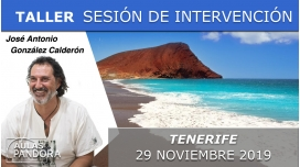 29 Noviembre 2019 ( Tenerife, España ) - SESIÓN DE INTERVENCIÓN DIRECTA RECONÓCETE con José Antonio González Calderón