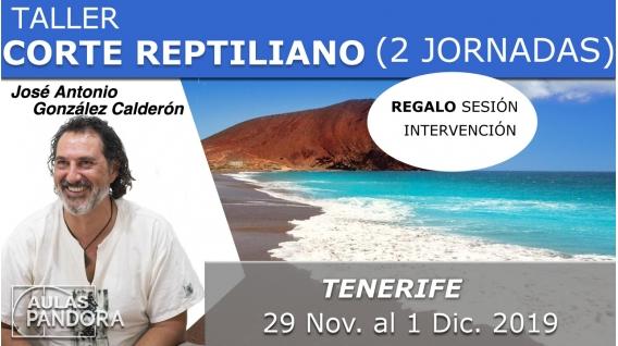 29 Nov. al 1 Dic. 2019 ( Barcelona, España ) - TALLER CORTE REPTILIANO ( 2 Jornadas ) con José Antonio González Calderón