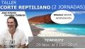 29 Nov. al 1 Dic. 2019 ( Tenerife, España ) - TALLER CORTE REPTILIANO ( 2 Jornadas ) con José Antonio González Calderón