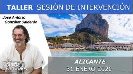 31 Enero 2020 ( Alicante, España ) - SESIÓN DE INTERVENCIÓN DIRECTA RECONÓCETE con José Antonio González Calderón