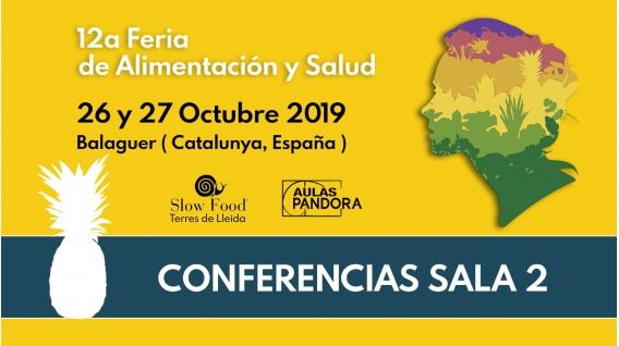 SALA 2 Conferencias - 12a FERIA DE ALIMENTACIÓN Y SALUD