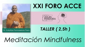 Rev. Dr. ILUKPITIYE PANNASEKARA THERO, Meditación Mindfulness ( XXI FORO ACCE )