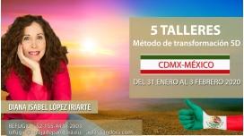 31 Enero al 3 Febrero ( CDMX- México )- RESERVA - Pack completo 5 Talleres con Diana López Iriarte