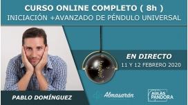 11 y 12 Febrero 2020 ( Online en Directo ) - CURSO COMPLETO DE PÉNDULO UNIVERSAL con Pablo Domínguez