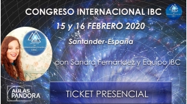 15 y 16 de Febrero 2020 ( Santander- España) Congreso Internacional IBC con Sandra Fernández