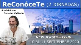10 y 11 Septiembre 2020 ( New Jersey - EEUU )  RESERVA - TALLER RECONÓCETE ( 2 Jornadas ) con José Antonio González Calderón
