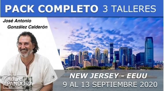 9 al 13 Septiembre 2020 ( New - Jersey - EEUU ) RESERVA - 3 TALLERES con José Antonio González Calderón