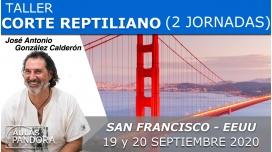 19 y 20 Septiembre 2020 ( San Francisco- EEUU )  RESERVA - TALLER CORTE REPTILIANO con José Antonio González Calderón
