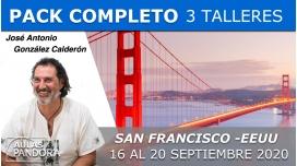 16 al 20 Septiembre 2020 ( San Francisco, EEUU) RESERVA - 3 TALLERES con José Antonio González Calderón