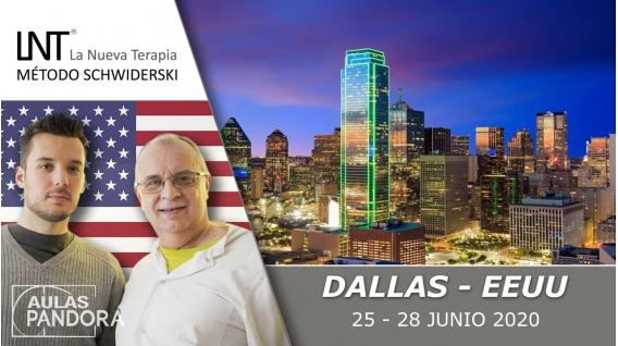18  - 21 Junio 2020 ( Dallas, EEUU) - FORMACIONES LA NUEVA TERAPIA LNT®, Método Schwiderski