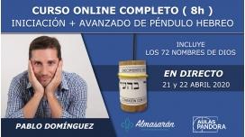 21 y 22 Abril 2020 ( Online en Directo ) - CURSO COMPLETO DE PÉNDULO HEBREO con Pablo Domínguez