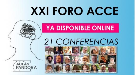 XXI FORO ACCE - Todas las Conferencias