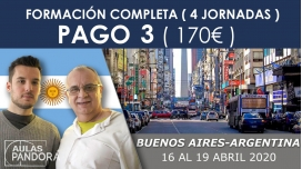 (PAGO 3 - 170€) 16 - 19 Abril 2020 ( Buenos Aires - Argentina ) - FORMACIONES LA NUEVA TERAPIA LNT®, Método Schwiderski