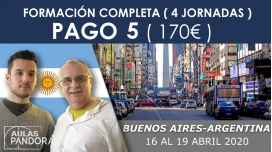 (PAGO 5  - 170€) 16 - 19 Abril 2020 ( Buenos Aires - Argentina ) - FORMACIONES LA NUEVA TERAPIA LNT®, Método Schwiderski