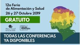 12a FERIA DE ALIMENTACIÓN Y SALUD Conferencias de la Sala 1 y Sala 2