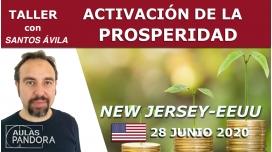28 Junio 2020 ( New Jersey - EEUU ) - Taller Activación de la prosperidad con Santos Ávila