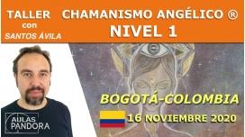 16 Noviembre 2020 ( Bogotá - Colombia ) Taller  Chamanismo angélico ® Nivel 1 con Santos Ávila