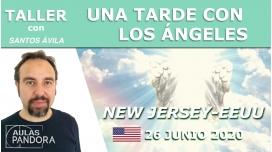 26 Junio 2020 ( New Jersey - EEUU ) - Taller Una tarde con los ángeles con Santos Ávila