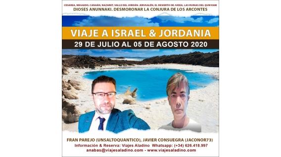 Del 29 de julio al 5 de agosto de 2020 - VIAJE A ISRAEL con Jaconor y Fran Parejo