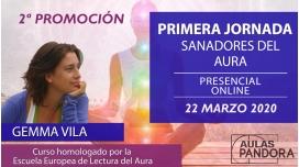 Curso Sanadores del Aura 2ª Promoción, con Gemma Vila - PRIMERA JORNADA