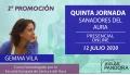 Curso Sanadores del Aura 2ª Promoción, con Gemma Vila - QUINTA JORNADA