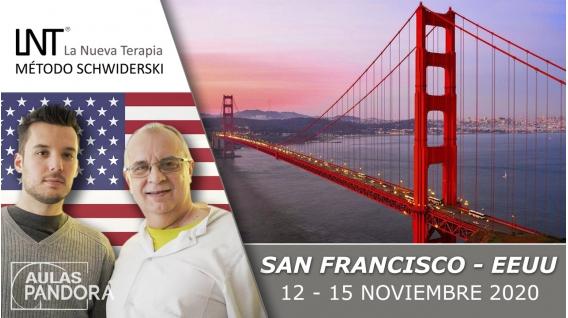 12 - 15 Noviembre 2020 ( San Francisco, EEUU  ) - FORMACIONES LA NUEVA TERAPIA LNT®, Método Schwiderski