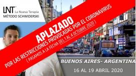 16 - 19 Abril 2020 ( Buenos Aires - Argentina ) - FORMACIONES LA NUEVA TERAPIA LNT®, Método Schwiderski