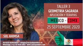 10 Abril 2020 ( México - CDMX ) RESERVA - TALLER 3: Geometría Sagrada, aplicación y terapias - Sol Ahimsa