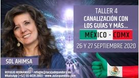 11 y 12 Abril 2020 ( México - CDMX ) RESERVA - FORMACIÓN: Canalización con los Guías y más..- Sol Ahimsa