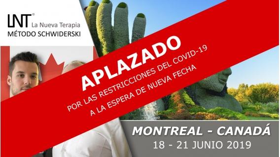 25 - 28 Junio 2020 ( Montreal, Canadá ) - FORMACIONES LA NUEVA TERAPIA LNT®, Método Schwiderski